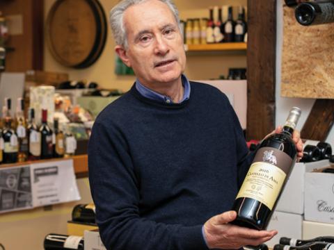 Carlo Lavuri - una vita dedicata al mondo del vino