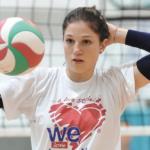Francesca Chiti - l'ultima quarratina del Blu Volley