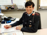 Pamela Michelozzi - la nuova comandante della municipale
