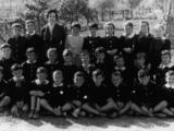 Valenzatico - Quinta elementare, anno 1960.